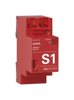 GIRA 208900 S1 Schnittstelle zur Fernwartung, 24 V DC 300 mA REG 2 TE