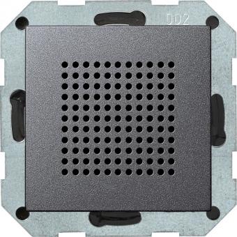 GIRA 228228 Lautsprecher Unterputz-Radio RDS Anthrazit