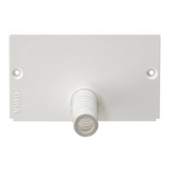 GIRA 135827 Endkappe mit integrierter Zugentlastung