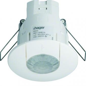 HAGER EE815 Präsenzmelder Einbau 360grad