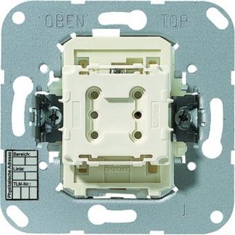 JUNG 4071.02 LED KNX Taster  BA - Mittenstellung - 1-fach