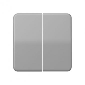 jung cd 595 bf gr serienwippe f r taster ba 2 fach grau. Black Bedroom Furniture Sets. Home Design Ideas