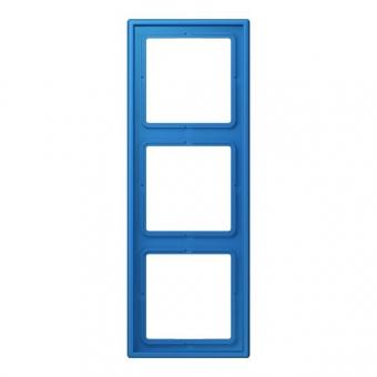 JUNG LC98332030 Rahmen 3fach bleu céruléen 31