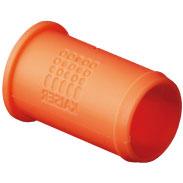 KAISER 9060-98 Verbindungsstutzen nicht halogenfrei, orange