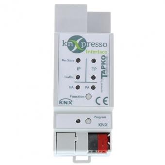 KNXPRESSO IP-Interface mit 4 Tunnelverbindungen, KNX-Bus