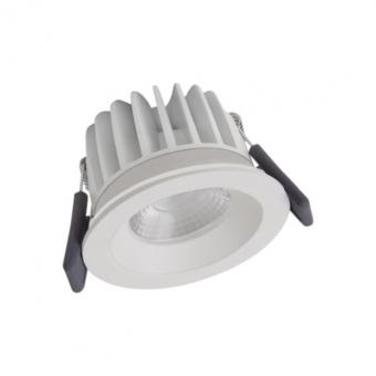 LEDVANCE SPOTFP LED FIX 8W/3000K WT DIM IP65 Einbaustrahler 3000 K warmweiß