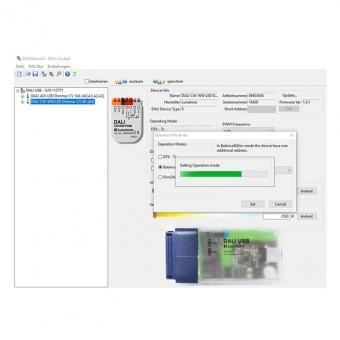 VOLTUS Programmierung in Betriebsart Colour & Dim