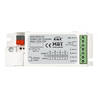 MDT AKD-0424V.02 LED Controller 4-Kanal RGBW Unterputzgerät