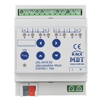 MDT JAL-0410.02 Jalousieaktor 4TE REG 10A 230VAC 4-fach
