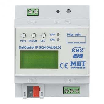 MDT SCN-DALI64.03 DaliControl IP Gateway mit Webinterface 4TE REG