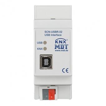 MDT SCN-USBR.02 USB Interface KNX 2TE REG