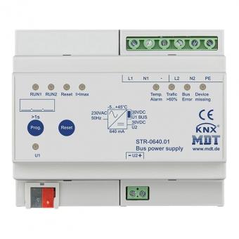 MDT STR-0640.01 Busspannungsversorgung Redundant mit Diagnosefunktion