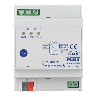 MDT STV-0640.02 Busspannungsversorgung 4TE REG 640mA