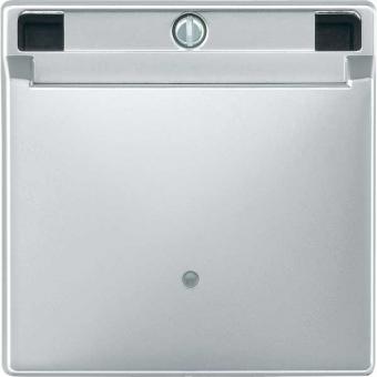 merten 315360 card schalter aluminium online kaufen im voltus elektro shop. Black Bedroom Furniture Sets. Home Design Ideas