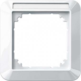 MERTEN 387119 1-M-Rahmen mit Beschriftungsträger 1-fach