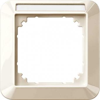 MERTEN 387144 1-M-Rahmen mit Beschriftungsträger 1-fach