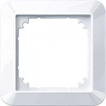 MERTEN 389125 1-M-Rahmen, Aktivweiß glänzend 1-fach