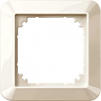 MERTEN 389144 1-M-Rahmen, Cremeweiß glänzend 1-fach