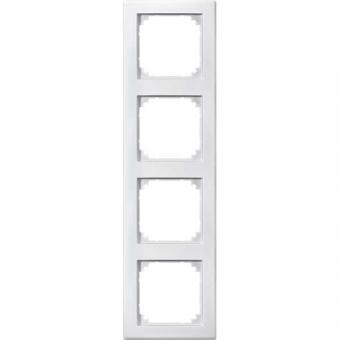 merten 462419 m smart rahmen 4fach polarweiss hochkratzfest online kaufen im voltus elektro shop. Black Bedroom Furniture Sets. Home Design Ideas