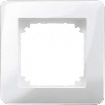 MERTEN MEG4010-3519 M-Creativ-Rahmen polarweiß glänzend 1fach
