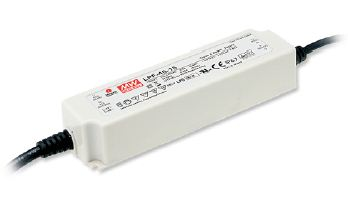 MEANWELL-LPF-40-12 LED-Schaltnetzteile, IP67 40W 12V/3,34A