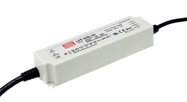 MEANWELL-LPF-60D-12 LED-Schaltnetzteile, IP67, 60W 60W 12V/5A dimmbar