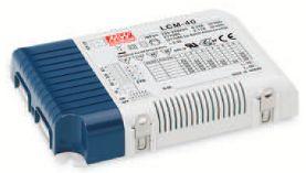 MEANWELL LCM-40 LED-Schaltnetzteil SNT 42W 350/500/600/700/900/1050mA CC