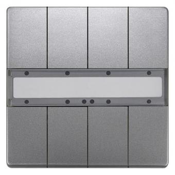 SIEMENS 5WG1287-2DB42 UP 287/42 Taster ohne Status-LED platinmetallic 4-fach