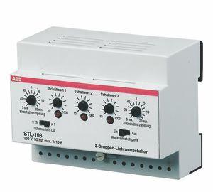 ABB STL-103 Lichtwertschalter, 3 Gruppen