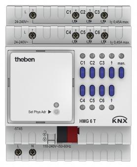 THEBEN 4930240 HMG 6 T KNX 6-fach Heizungsaktor MIX2 Grundmodul