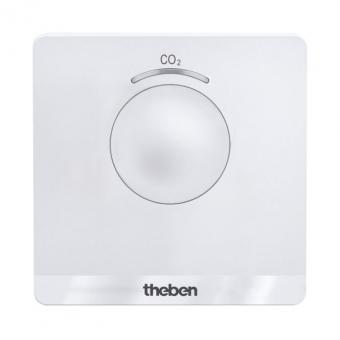 THEBEN 7169100 AMUN 716 CO2 Monitor Mobiler CO2-Sensor mit USB-Kabel