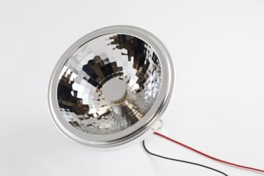 CONSTALED 30934 LED Spot AR111 9W 24V 2850K 24° dimmbar (bis 0,1 %)