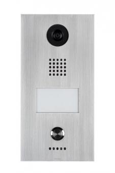 WANTEC 4001 Monolith C IP/VoIP Türsprechstelle mit HD Kamera 1 Taste