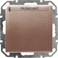 hager wye058 hotelcard schalter mit led elektronisch. Black Bedroom Furniture Sets. Home Design Ideas