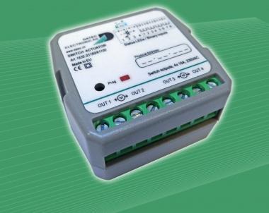 DATEC 1630.03160/61100 KNX Unterputz Schaltaktor 4-fach, 10 A