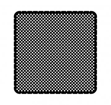 busch jaeger 2144 11 19 einleger busch icelight metall lochmuster quadratisch online kaufen im. Black Bedroom Furniture Sets. Home Design Ideas