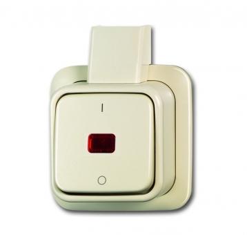 busch jaeger 2601 2 skap wipp kontrollschalter 2 polig ausschalter online kaufen im voltus. Black Bedroom Furniture Sets. Home Design Ideas