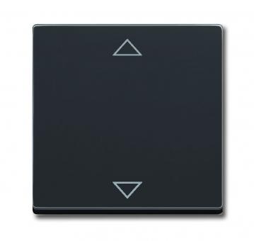 busch jaeger 6430 885 102 bedienelement f r busch jalousiecontrol schwarz matt online kaufen im. Black Bedroom Furniture Sets. Home Design Ideas