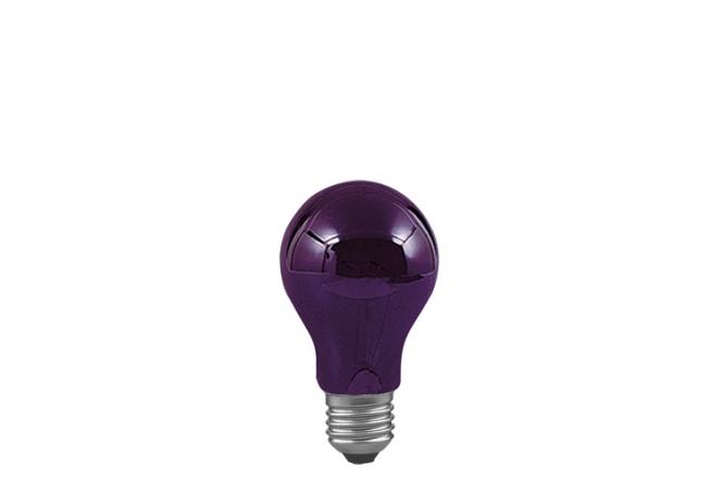 PAULMANN 590.70 AGL Schwarzlicht 75W, E27, 105mm, 60mm, Schwarzlicht