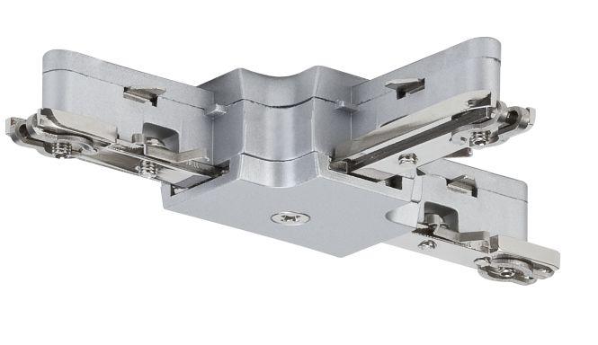 Fabulous PAULMANN 976.56 URail Schienen-System- ZUB T-Verbinder 230V chrom  XG82