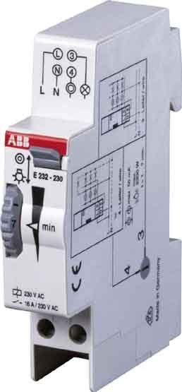 ABB E232 230 Treppenlichtzeitschalter