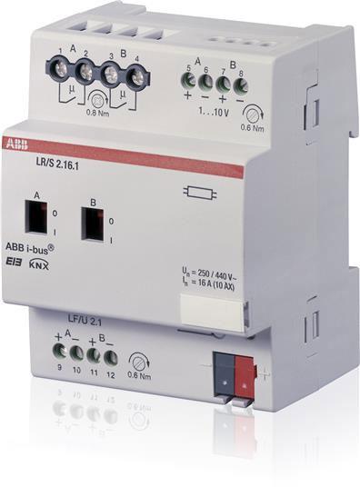 ABB-LR/S2.16.1 Lichtregler/Schaltdimmaktor 2fach