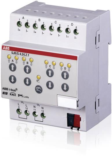 ABB SJR/S4.24.2.1 SMI Jalousie-/Rollladenaktor