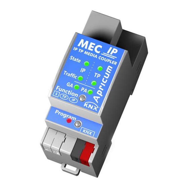 APRICUM MECip KNX/IP Router 2TE REG
