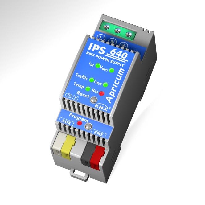 APRICUM IPS640 KNX Busspannungsversorgung 2TE REG 640mA