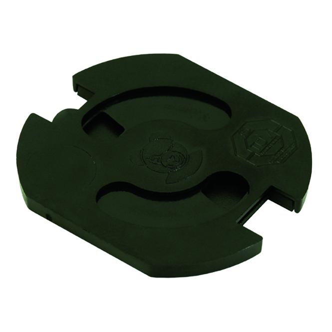 BACHMANN 6320-002.01 Teddy-Automatic Steckdosenschutz schwarz