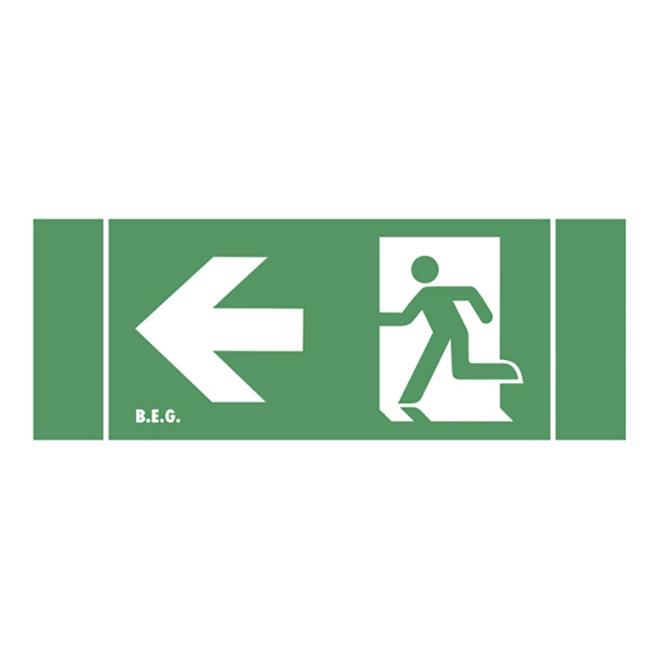 B.E.G. 5390 Ersatz-Piktogramm 2DN-H25 Pfeil nach links