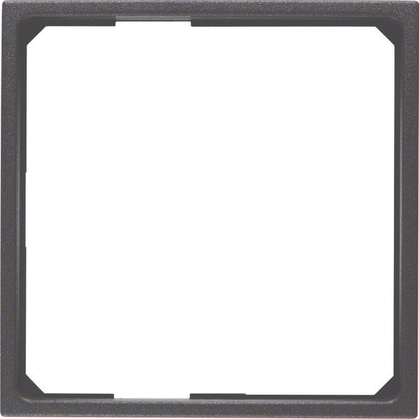 BERKER 11091616 Adapterring für 50x50mm Zentralstück