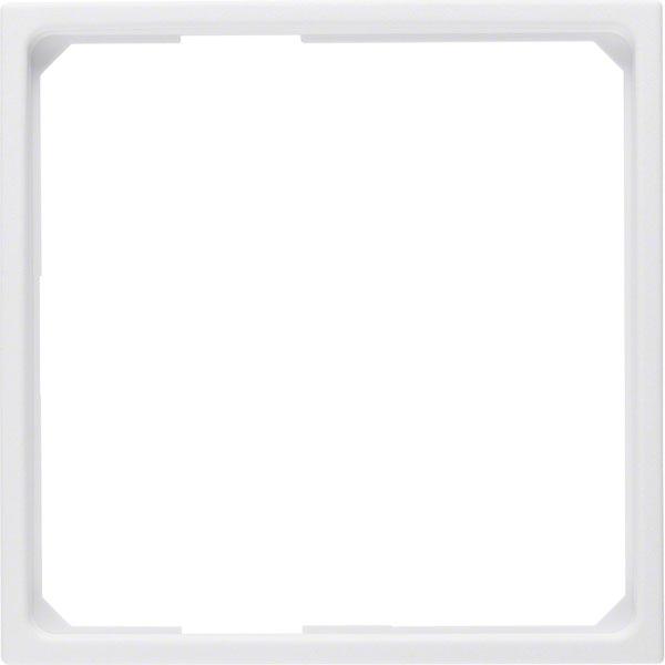 BERKER 11091919 Adapterring für 50x50mm Zentralstück