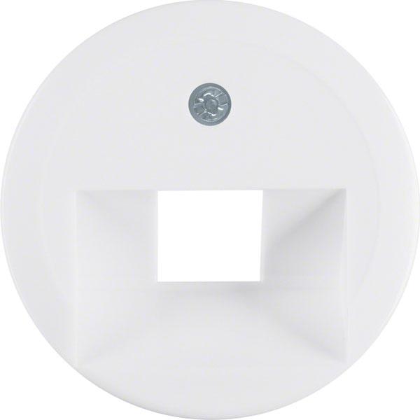 BERKER 1407 Abdeckung für ISDN/Netzwerkdose 1-fach